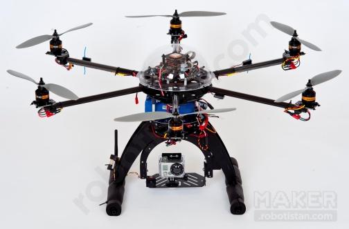 Drone Yapılmış Hali