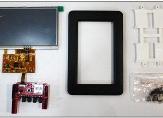 SK-FT843-ADAM-B 4D SYSTEMS 4,3'' Dokunmatik LCD Ekran Shield Kiti Arduino Uno Kurulumu