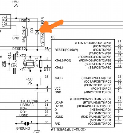 arduino-r3-atmega16u2-diode