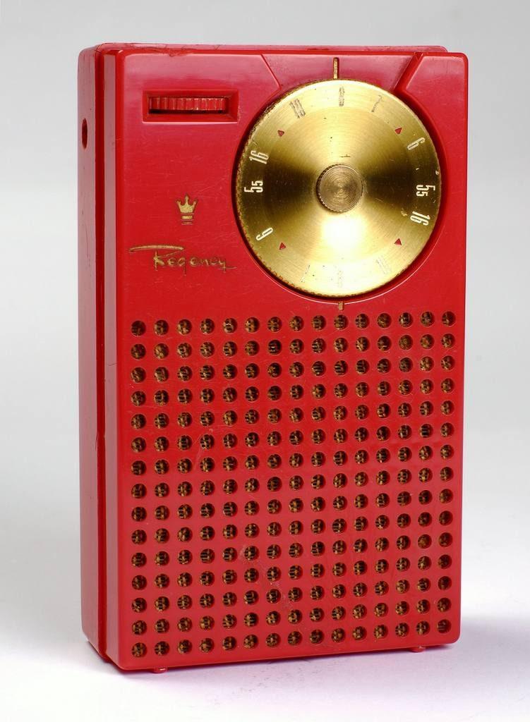 İlk transistörlü radyo.