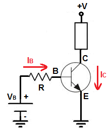 npn transistör devreye bağlama