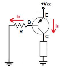npn transistör devreye bağlanma şekli