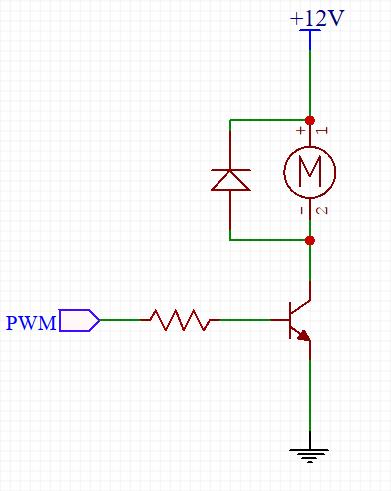 transistör ile dc motor sürme