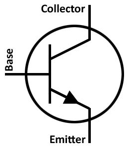 npn transistör bacakları