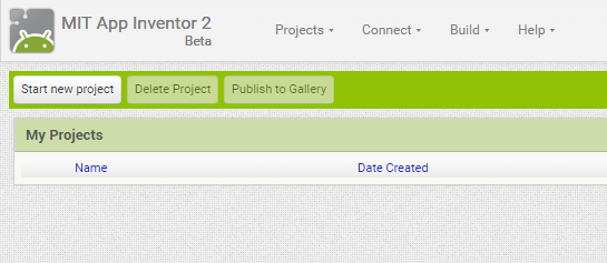 StartNewProject