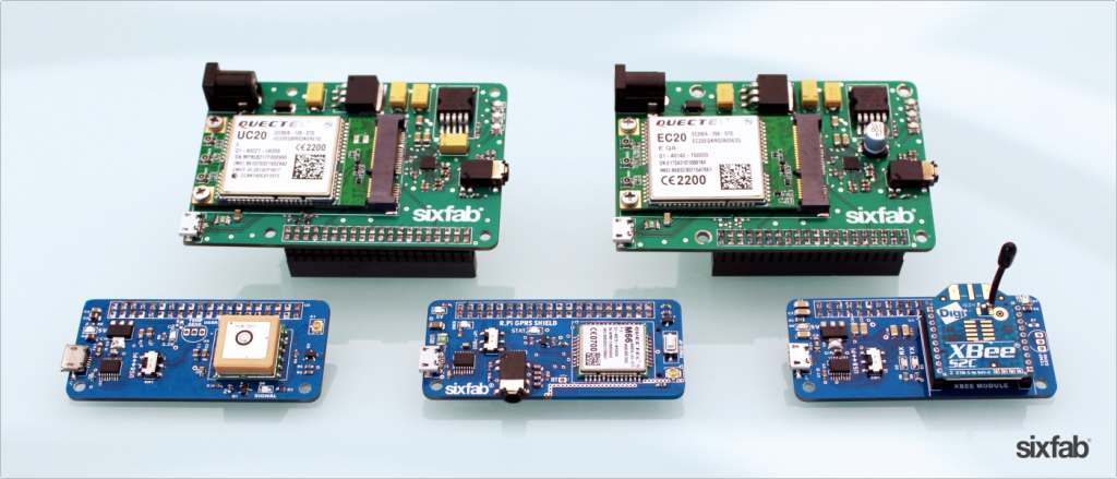 Sixfab IoT Shield Ailesi