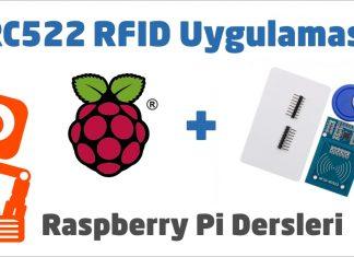 RC522 RFID Uygulaması