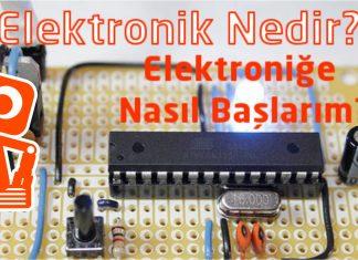 Elektroniğe nasıl başlarım ?