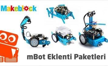 mBot eklenti paketleri
