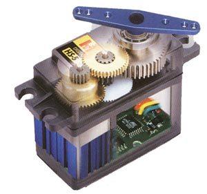 Servo motor yapısı