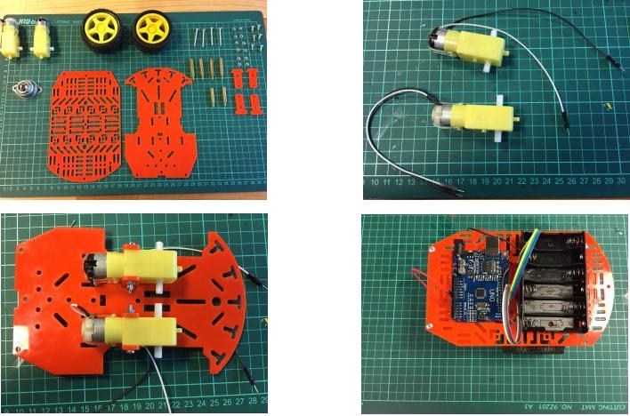 Çizgi İzleyen Robot Montajı