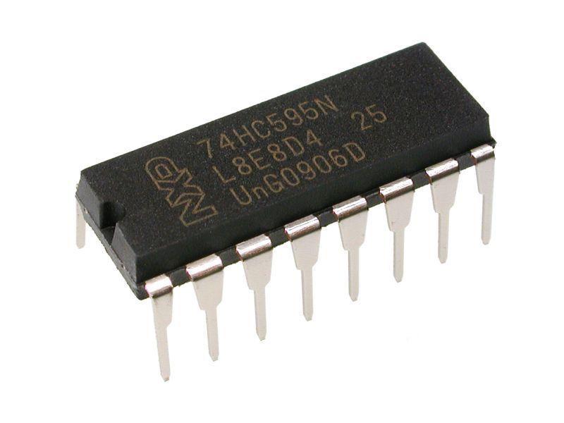 74hc595 dip