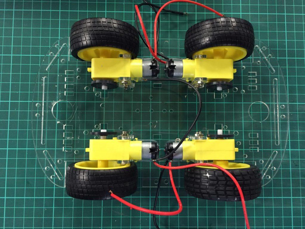 Raspberry Pi Robot Montajı