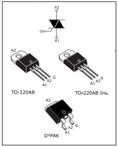 BTB12-600 Tristör Datasheet