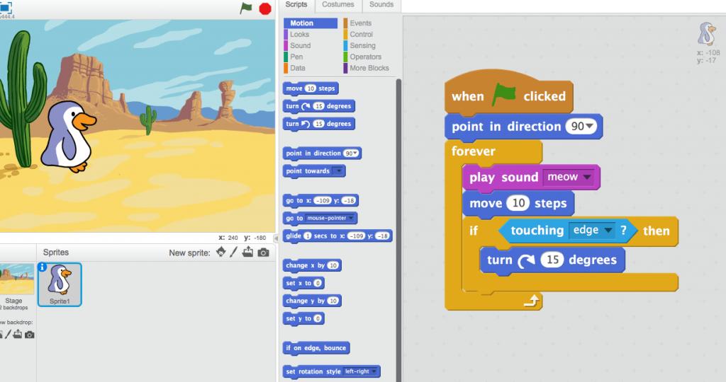 Çocuklar için Scratch ile Programlama
