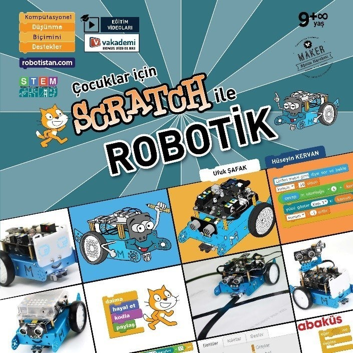 Scratch ile Robotik Kitabı