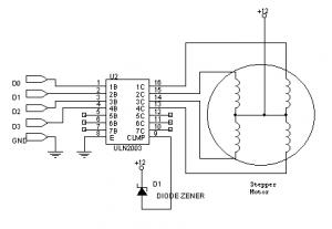 ULN2003 ile Motor Kontrol Devresi