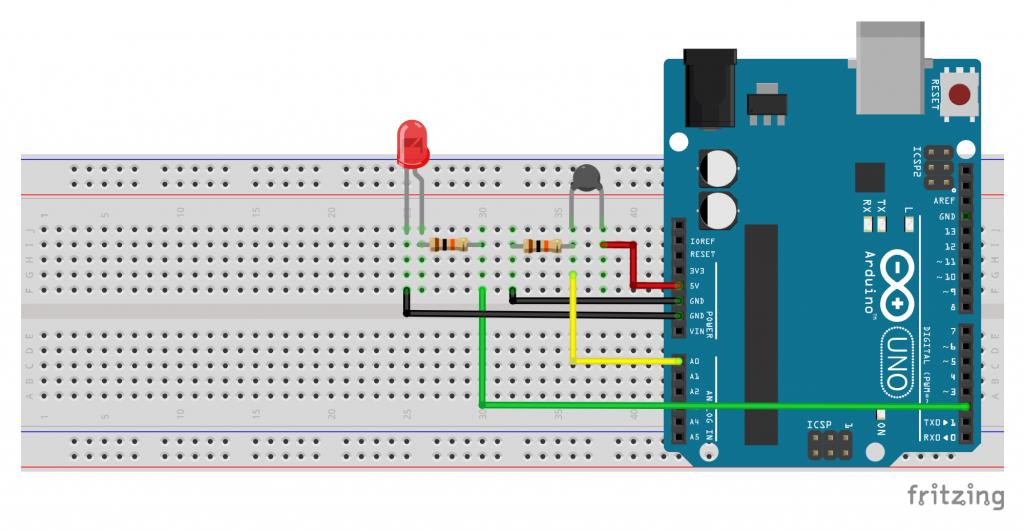 Arduino NTC Devresi