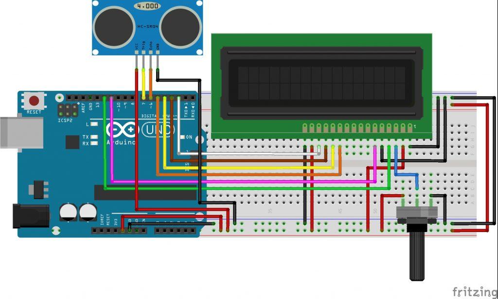 Arduino Dijital Metre Devresi
