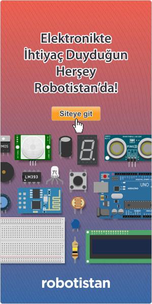 Tüm Elektronik ve Robotik Malzemeler