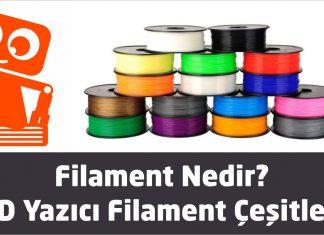 3D yazıcı filament çeşitleri