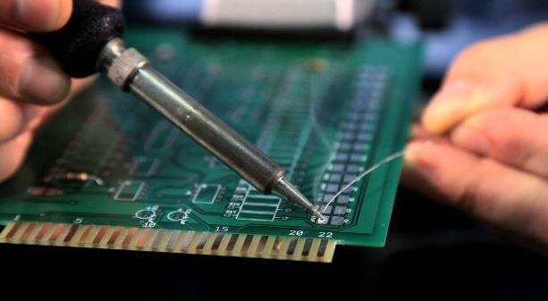 PCB Üzerinde Lehimleme İşlemi