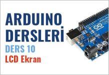 Arduino dersleri 16x2 LCD ekran