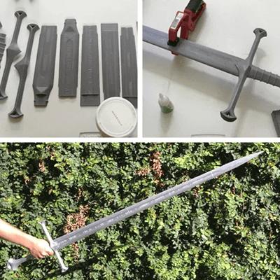 Aragorn'un Kılıcı: Andúril