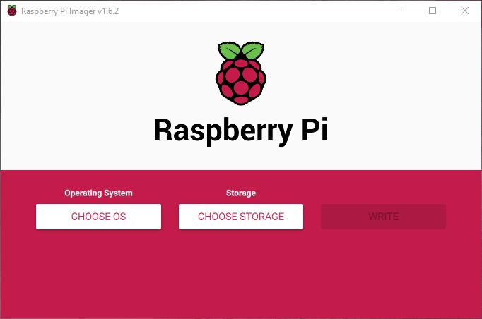 Raspberry Pi Imager Arayüzü