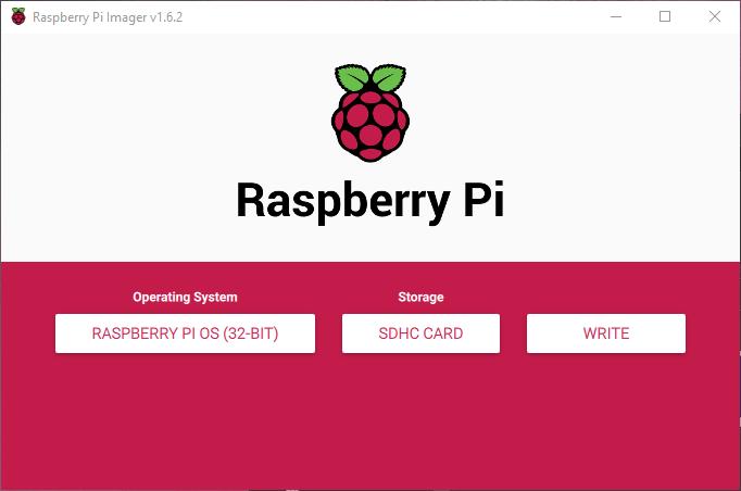 Raspberry Pi Imager Mikro SD Karta Yazma